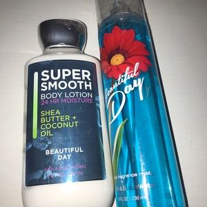 Bath&Body Works Lotion and spray
